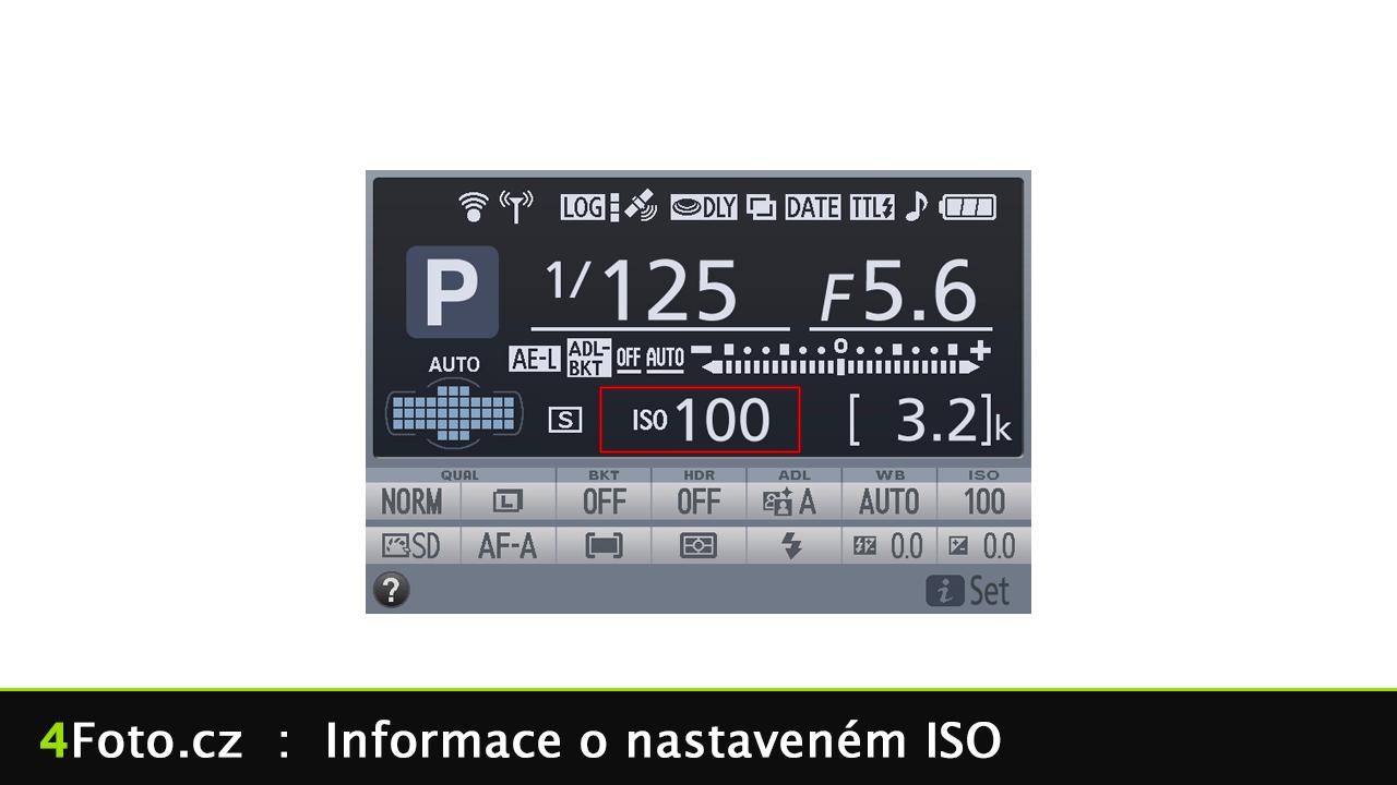 4Foto #74: Jak nastavit ISO