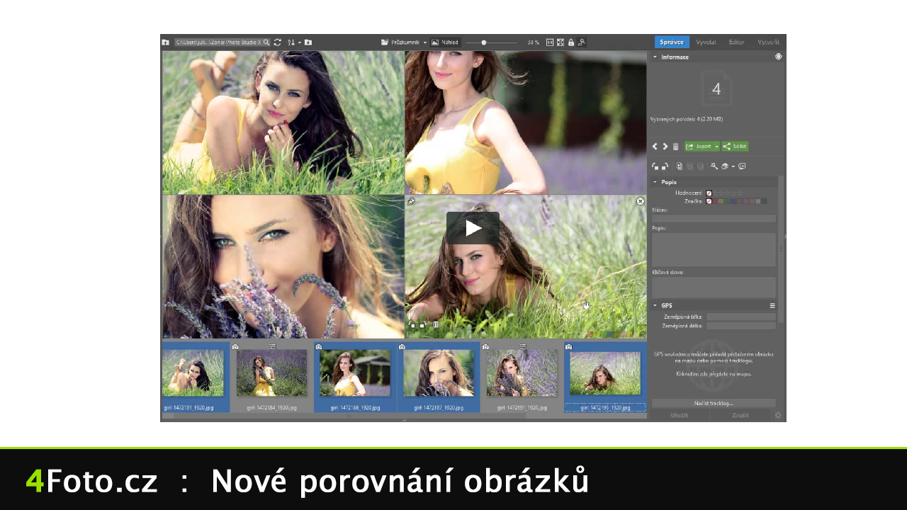 Novinky v Zoner Photo Studio
